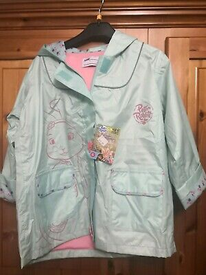 LOVELY New PETER RABBIT hooded raincoat Mac Coat AGE 6 BNWT rrp £39.99