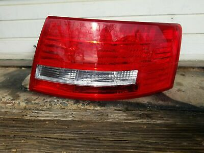 05 06 07 08 Audi A6 C6 Quattro SDN Qtr Mtd Tail Light Lamp PASSENGER R/H LED OEM