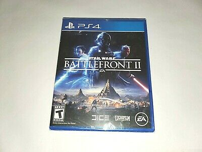 Star Wars BattleFront 2 PS4 EA Video Game Sony PlayStation 4 Combat New Sealed