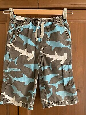MINI BODEN BOYS JERSEY CARGO COTTON SHORTS B0225 SIZE 3 YEARS BRAND NEW