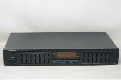ONKYO EQ-240 7-Band Stereo Graphic Equalizer Works Great! Free Shipping!