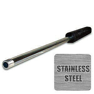 """28"""" Pressure Washer Spray Wand / Lance, Stainless Steel, Oval Molded Grip"""