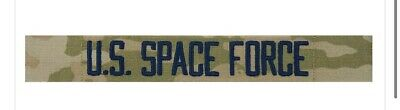U.S. SPACE FORCE UNIFORM PATCH IN OCP with black letters