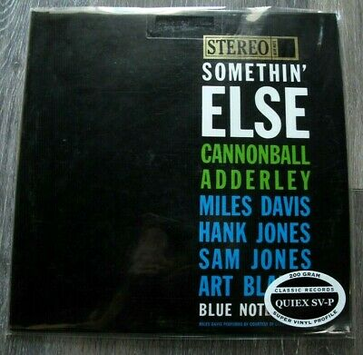 Classic Records Blue Note 1595 Cannonball Adderley Somethin Else STEREO 200G NEW