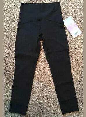 Ivivva By Lululemon Size 14 Strong Spirit Tight Black BLK Nulu Like Aligns Soft
