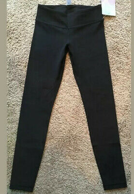 Ivivva By Lululemon Size 8 Rhythmic Tight Nulu Black BLK Pant Comfy Soft NWT