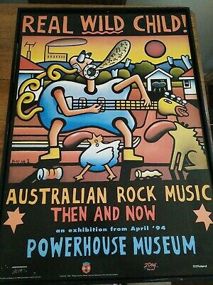 Real Wild Child Powerhouse Museum Poster 1994, mambo style