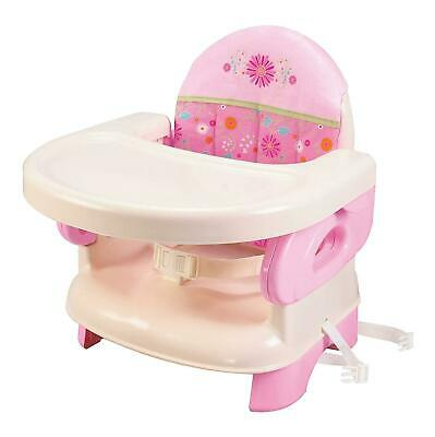 High Chair Booster Seat For Toddlers Infant Portable Baby Traveling Pink