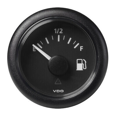 "VDO Viewline Engine Oil Temperature Gauge 52mm 2/"" 120-300F Black A2C60100114"