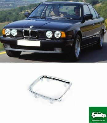 New Bmw 5 Series E34 1994 1995 Front Bonnet Kidney Grille Trim Chrome Right Car Bumpers Rubbing Strips Vehicle Parts Accessories