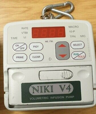 Volumetric Infusion Pumps Niki V4 and Aqupharm