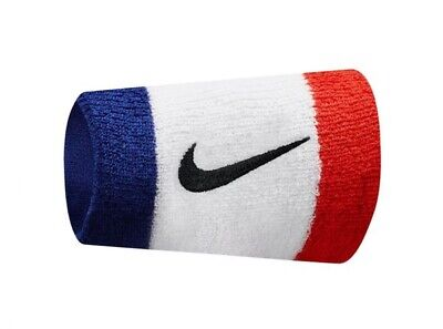 Nike Official Double Set Of 2 Habanero Swoosh Sports Sweat Stretch Wristbands