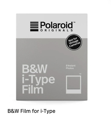 2020/09 Polaroid B&W black and white Instant Film i-TYPE US