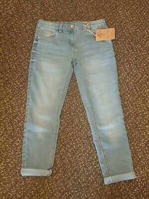 New Next Girls skinny relaxed fit jeans age 9 years BNWT