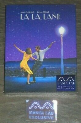 La La Land (blu-ray) Steelbook - Manta Lab (Lenticular). NEW & SEALED
