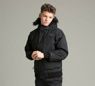 Junior The North Face Gotham Black Down Jacket PAC RRP £179.99