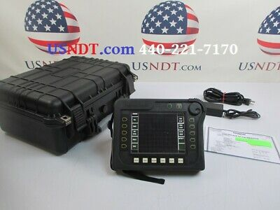 Olympus Nortec 500D Eddy Current Flaw Detector Rotating Bolt Hole Scanner NDT