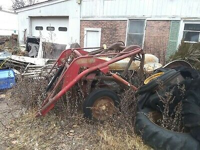 Massey Ferguson T20 with loader clutch stuck from sitting 4 cylinder