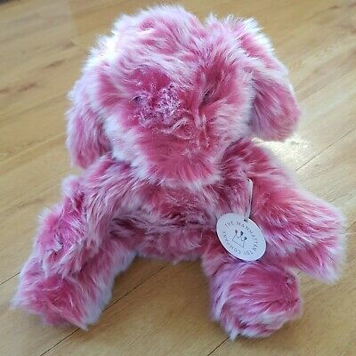 The Manhattan Toy Company Luxe Blush Bunny Rabbit Pink Soft Toy Plush Comforter