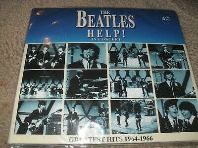 The Beatles Help! In Concert Greatest Hits Live 1964-1966 4-CD Box Set NEW CD