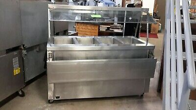 Used Duke TEHF-60SS Electric Hot Food 4 Well Serving Counter