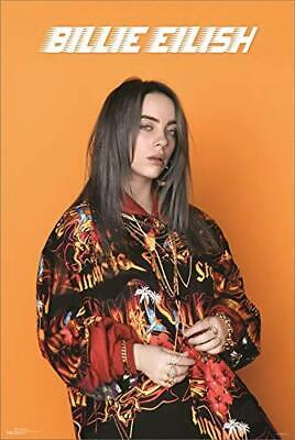 """Billie Eilish - Photo - Officially Licensed Laminated Poster - 24.5"""" x 36.5"""""""