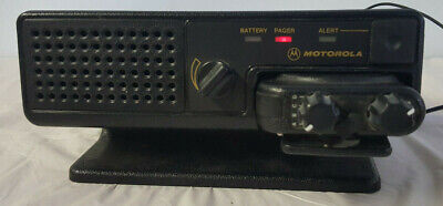 Motorola Minitor IV Low Band Pager w/ Charger, Power Supply and Ant - NYN 8348A
