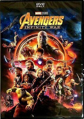 Avengers: Infinity War (DVD,2018) NEW- Factory Sealed- FREE SHIPPING!