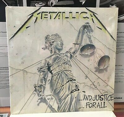 Metallica: And Justice For All 2xLP SEALED original, BMG record club 1988