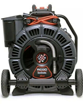 Ridgid 42348 Seesnake Max Rm200A Sewer Camera With Reel And Drum