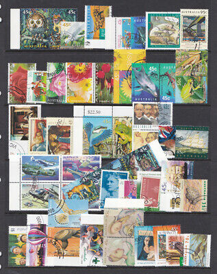 Australia LOT 50 stamps all CTO animals flowers
