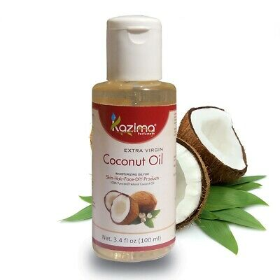 Kazima Extra Virgin Cold Pressed Natural & Undiluted Coconut Carrier Oil