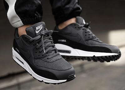 100% AUTHENTIC NEW Nike x Off White Air Max 90 Black EUR
