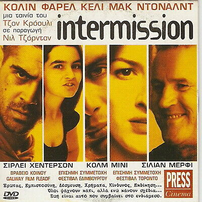 INTERMISSION Colin Farrell Shirley Henderson Kelly MacDonald Colm Meaney R2 DVD
