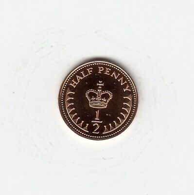 1984 HALF PENNY 1/2p In Lovely PROOF Condition Extremely Nice coin Rare   (4713)