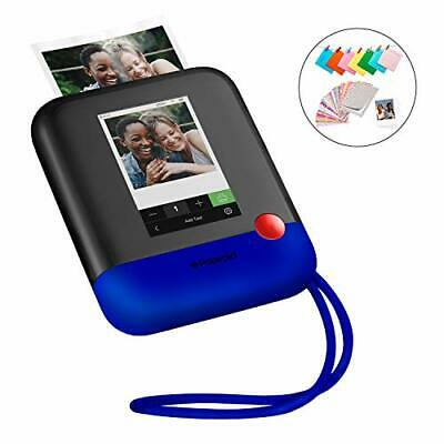 Polaroid Pop 2.0 2 in 1 Wireless Portable Instant 3x4 Photo (Blue|Camera Only)