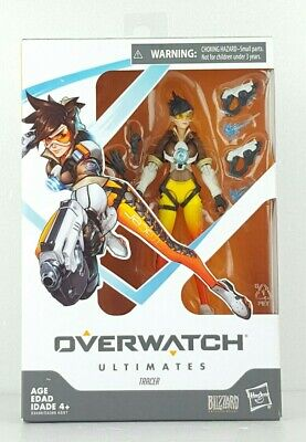 Overwatch Ultimates Series Tracer 6-Inch Collectible Action Figure Hasbro Blizz