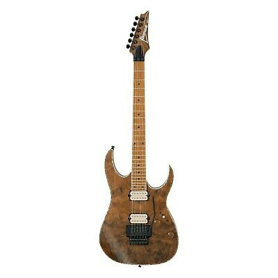 Ibanez Exotic RGEW520MCW Natural Flat Guitar B-Stock Figured Black Walnut RG