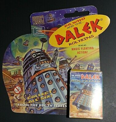 """Product Enterprise Doctor Who Rolykins  DALEK in Box Measures 1 1/2"""" tall"""