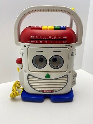 1996 Playskool Mr. Mike PS-468 Toy Story Voice Changer Recorder Cassette Player
