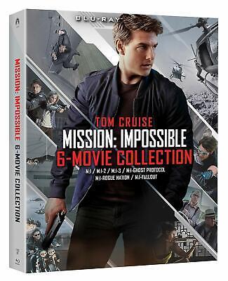 Mission: Impossible 6-Movie Collection (Blu Ray) NEW!! (No Digital) *FREE SHIP*