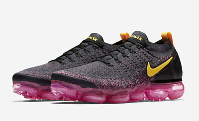 NEW Nike Air Vapormax Flyknit 2 Mens Running Shoe Gridiron Pink Blast 942842-008
