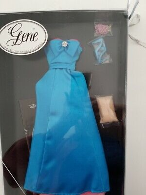 Blue Evening Gown Gene Doll Outfit By Mel Odom NRFB