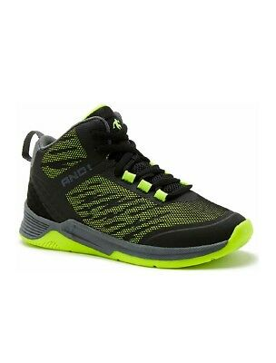 13-4 OP Boys/' Gray//Yellow Lime  High Top Athletic Sneakers//Shoes