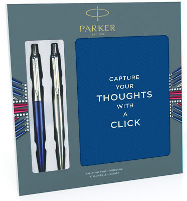Parker Jotter Duo Ballpoint Pen with Notebook