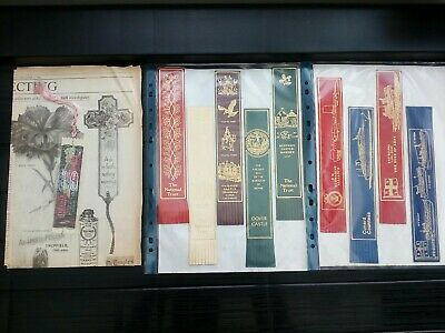 Large Collection of Vintage Bookmarks +90  Mainly Leather