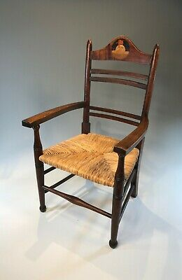 Antique Arts & Crafts Liberty & Co Nursery Rhyme Child's Chair