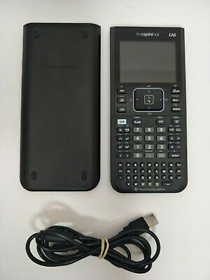 Texas Instruments TI-Nspire CX CAS Graphing Calculator with Mini USB Cable