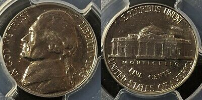 United States 1956 Proof Five cent 5c PR68 PCGS FDC UNC