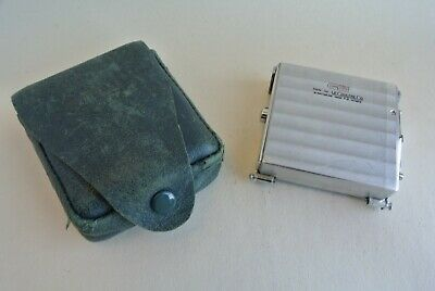 Compass Jaeger LeCoultre Le Coultre miniature camera rollfilm back   exc